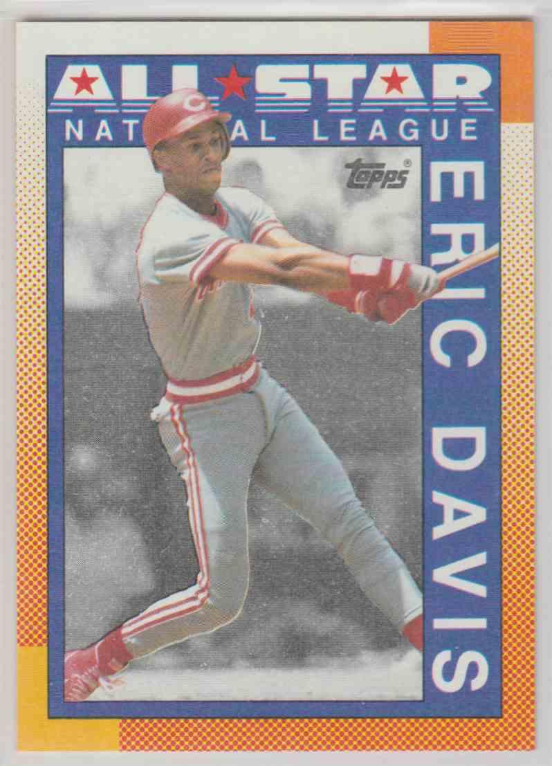 1990 Topps Eric Davis #402 card front image
