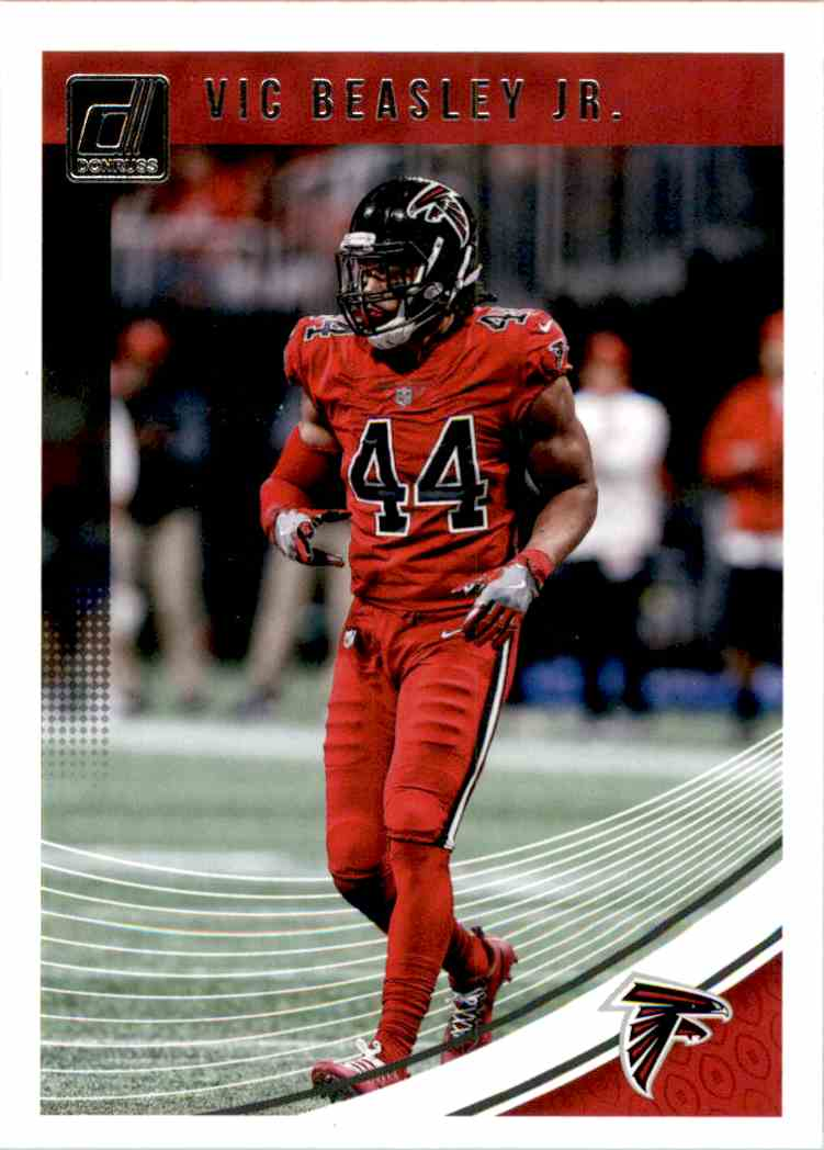 2018 Donruss VIC Beasley JR. #15 card front image