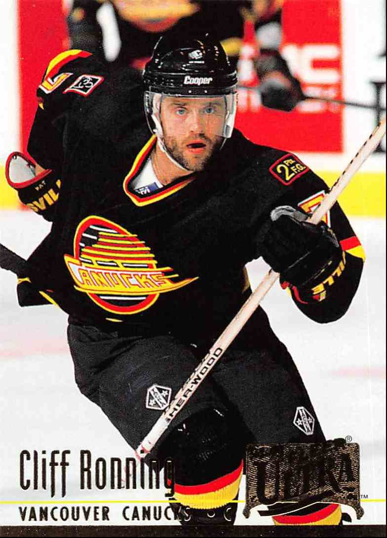 1994-95 Ultra Cliff Ronning #230 card front image