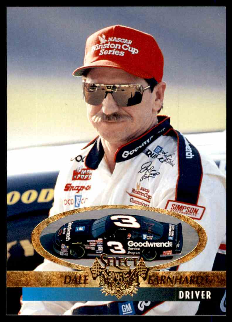 1995 Select Dale Earnhardt #151 card front image
