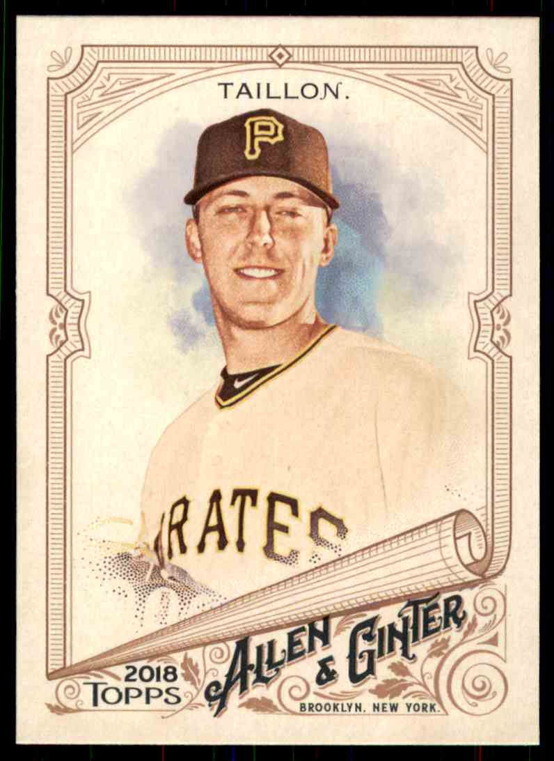 2018 Topps Allen & Ginter Jameson Taillon #298 card front image