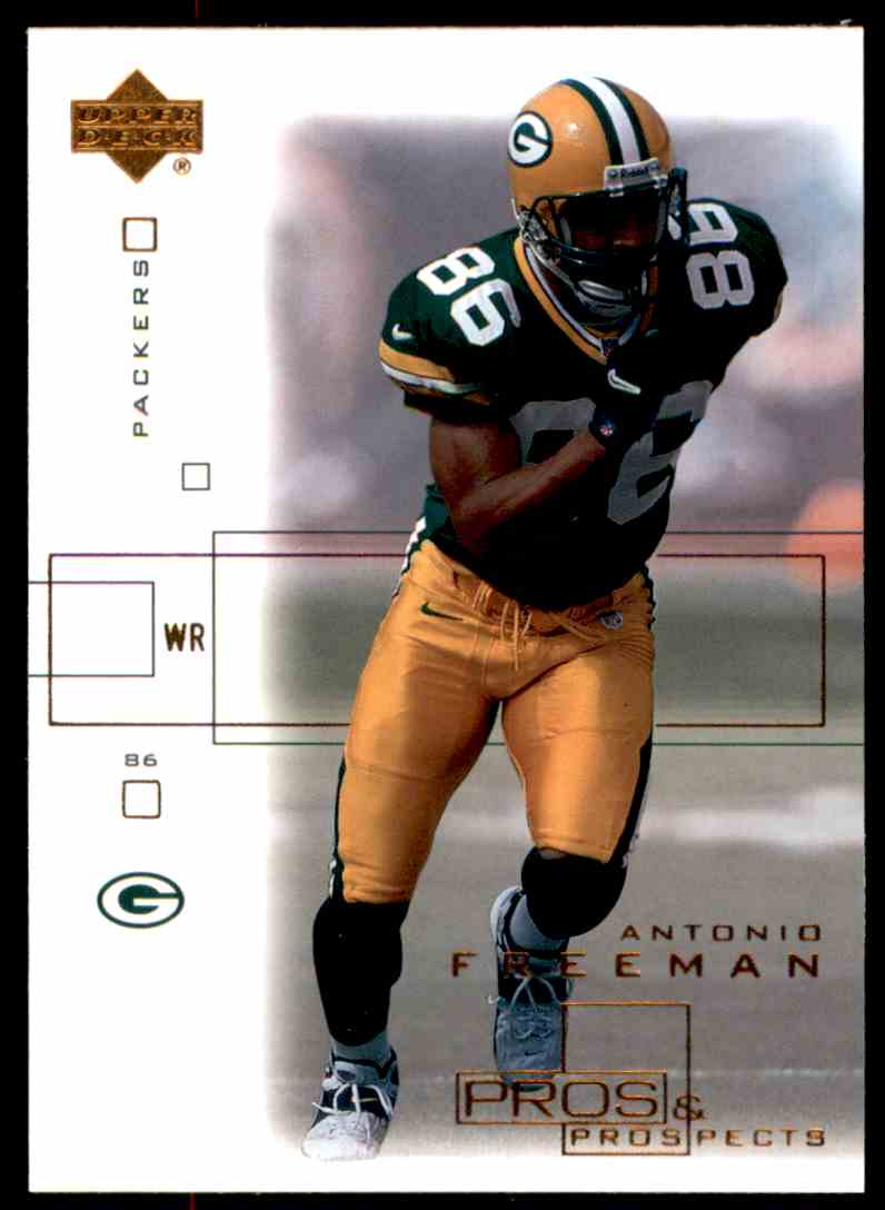 2001 Upper Deck Pros And Prospects Antonio Freeman #33 card front image
