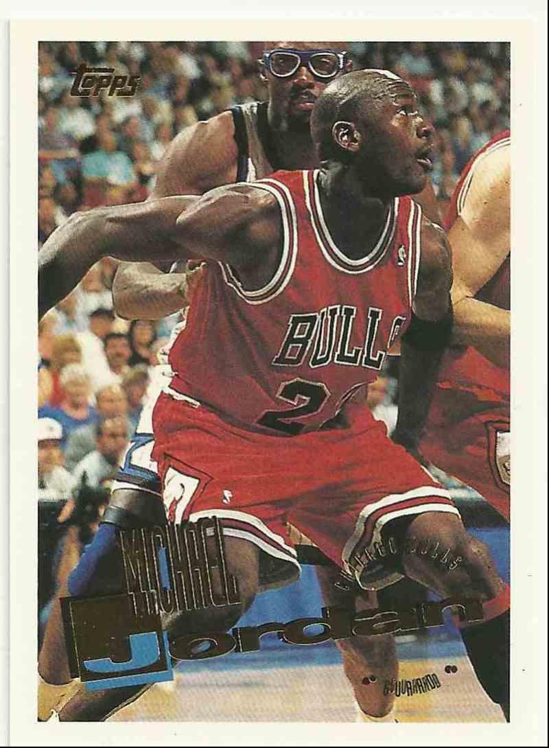 1996-97 Topps Michael Jordan #277 card front image