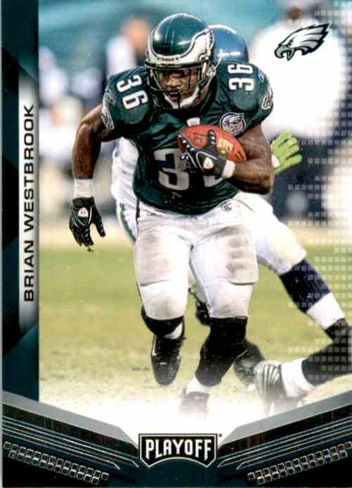 2019 Playoff Brian Westbrook #108 card front image