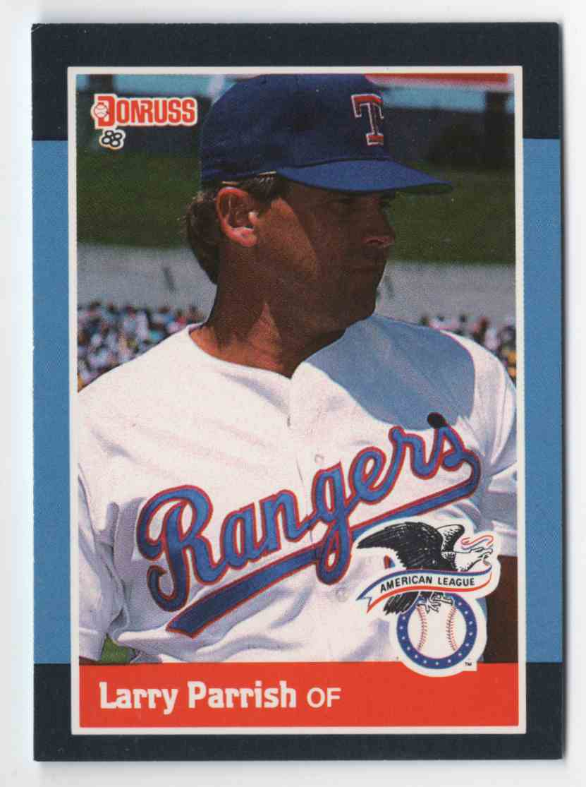 1988 Donruss All-Stars Larry Parrish #21 card front image