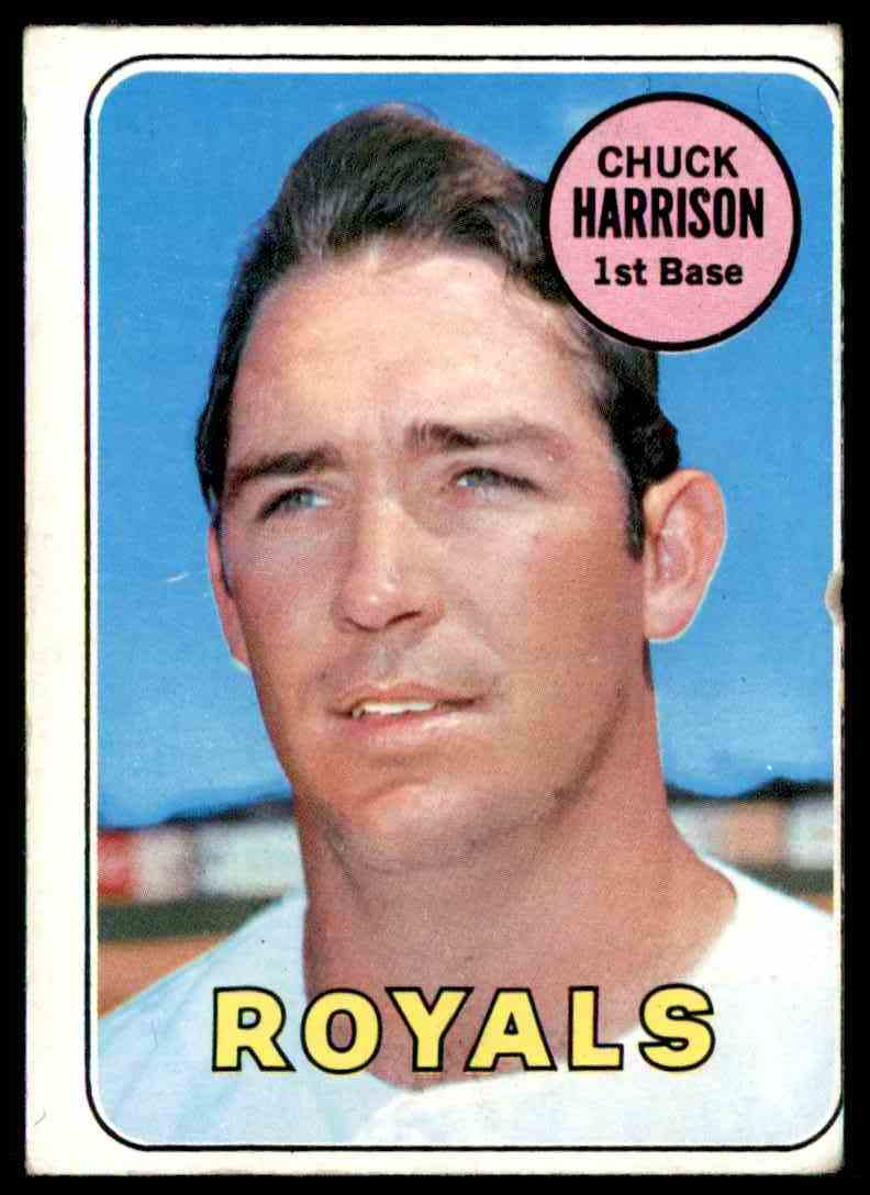 1969 Topps Chuck Harrison #116 card front image