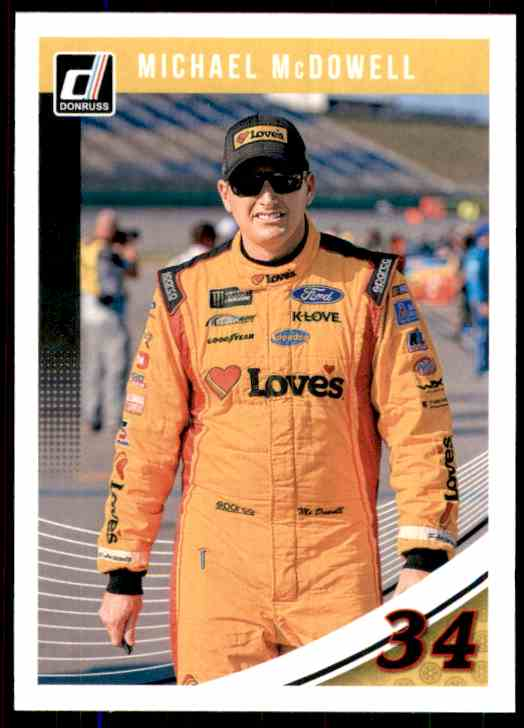 2019 Donruss Michael McDowell #45 card front image