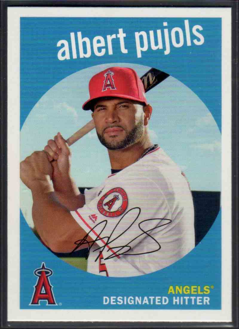 2018 Topps Archives Albert Pujols #92 card front image