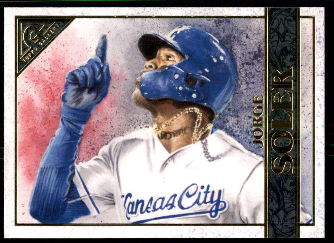 2020 Topps Gallery Jorge Soler #113 card front image