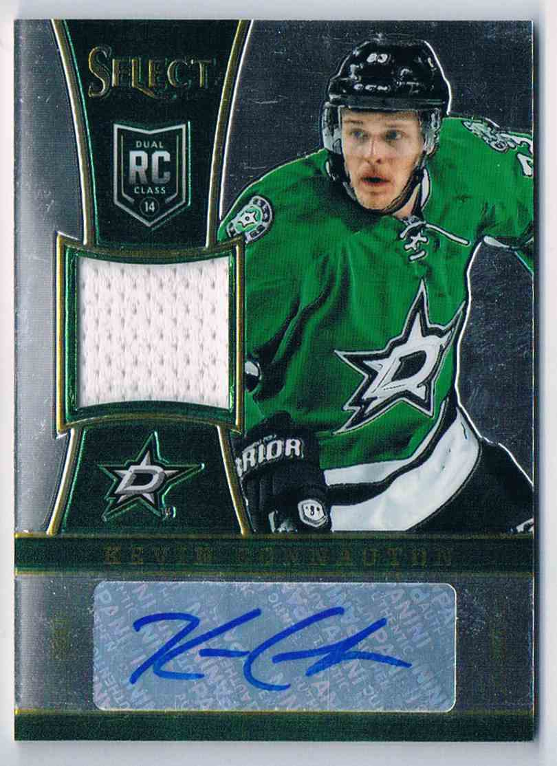 2013-14 Panini Select Jersey Autograph Kevin Connauton #331 card front image
