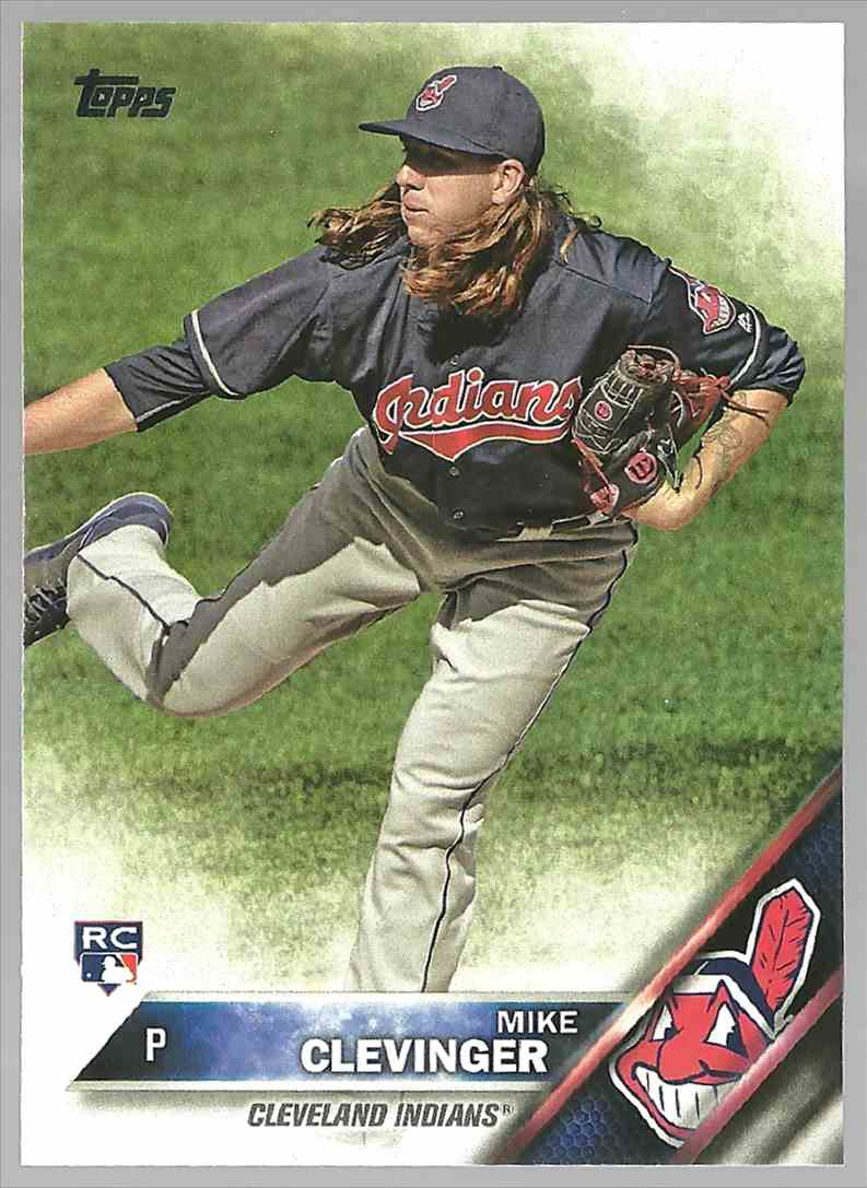 2016 Topps Update Mike Clevinger #US69 card front image