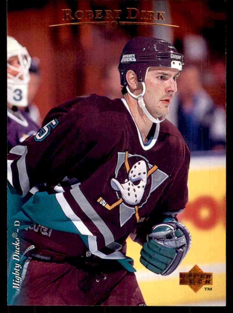 1995-96 Upper Deck Robert Dirk #432 card front image
