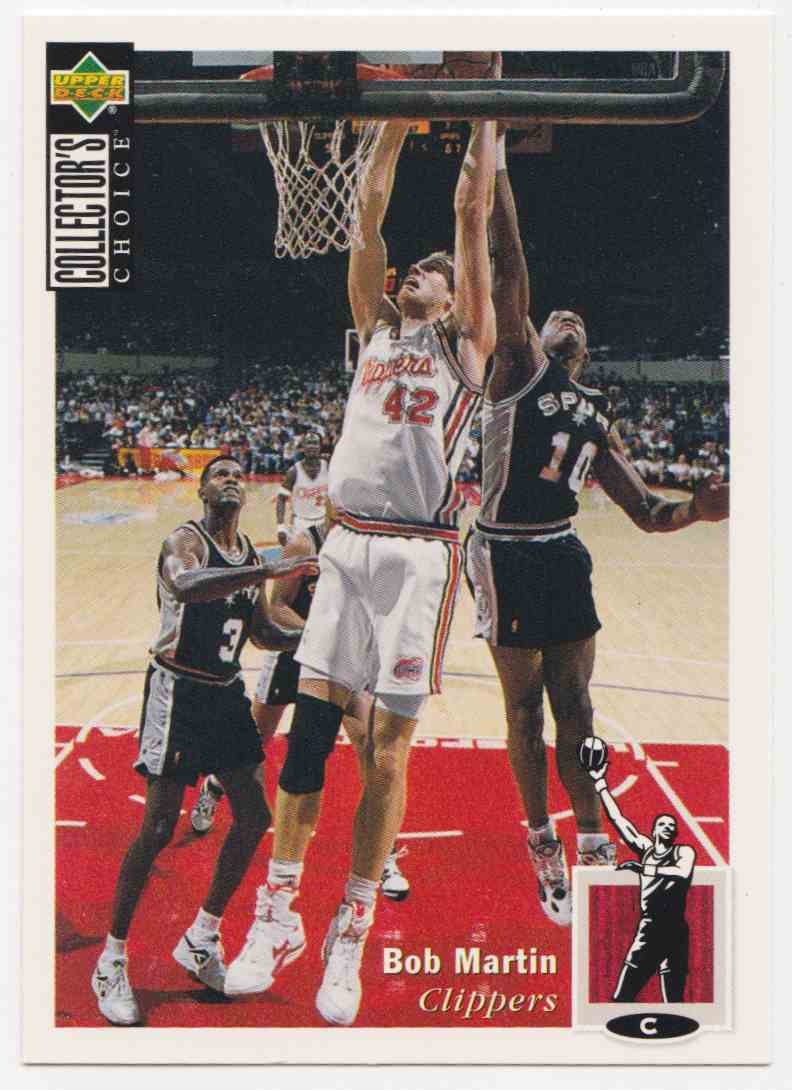 1994-95 Upper Deck Collector's Choice Base Bob Martin #48 card front image