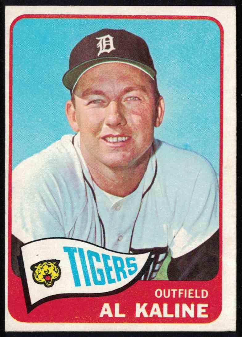 1965 Topps Al Kaline EX+ #130 card front image
