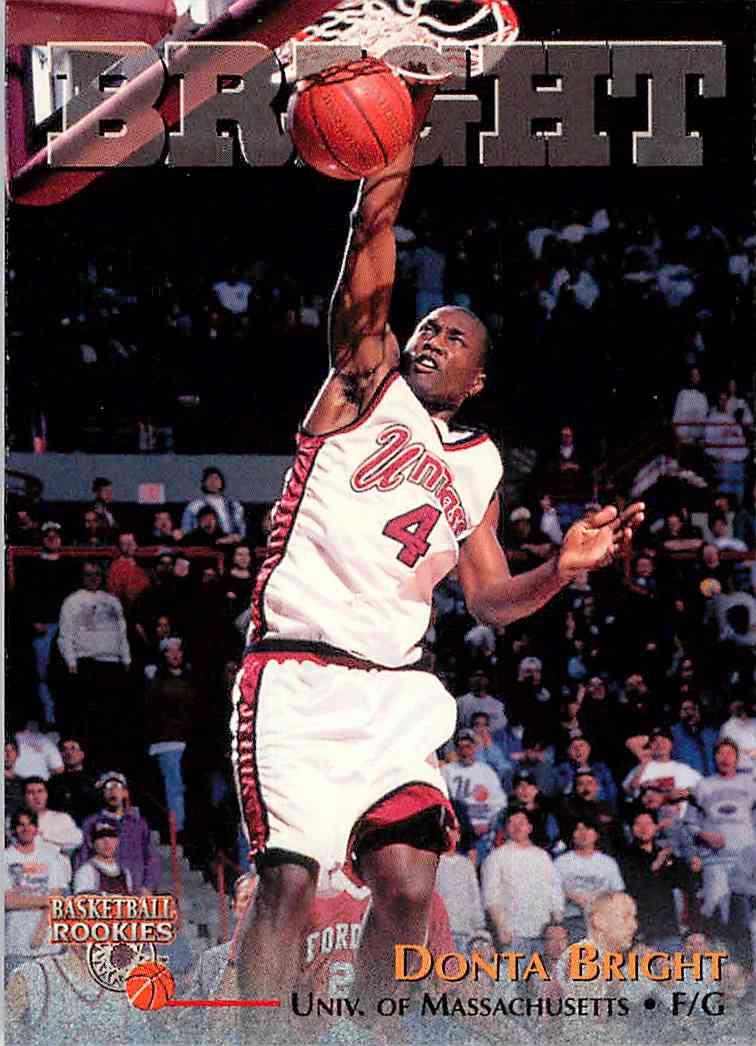 1996-97 Score Board Donta Bright #62 card front image