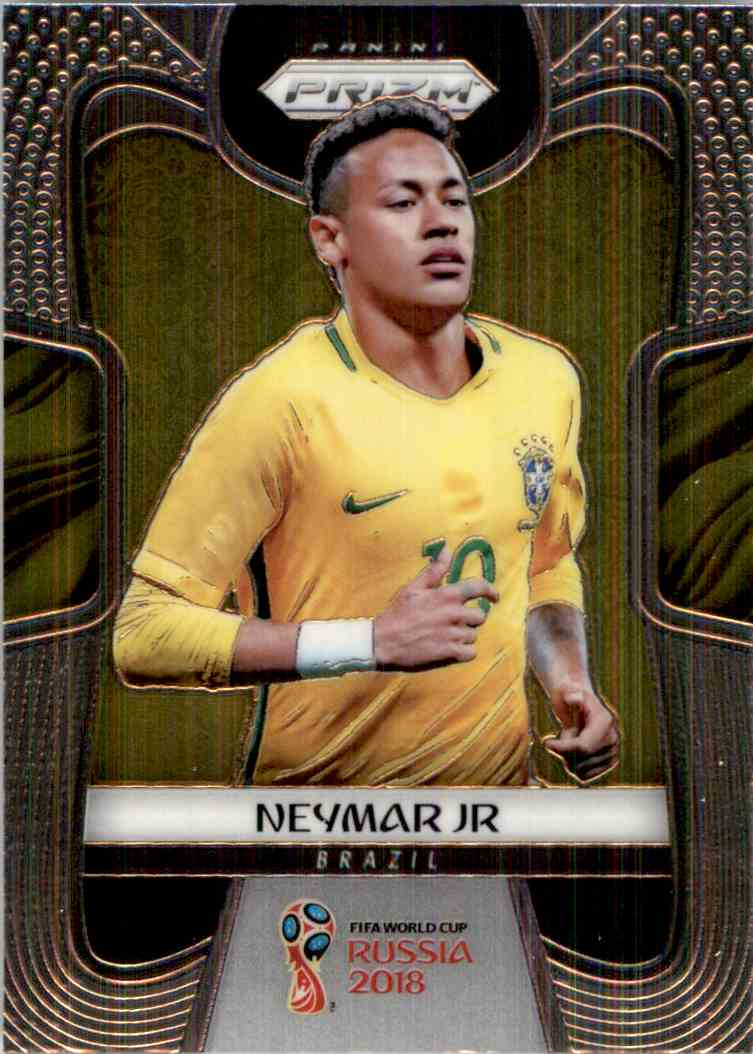 2018 Panini Prizm World Cup Neymar JR #25 card front image