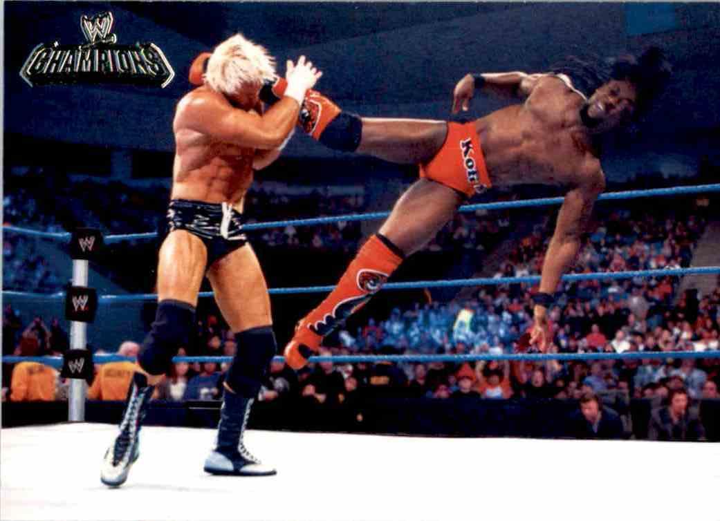 2011 Topps Wwe Champions Kofi Kingston #19 card front image