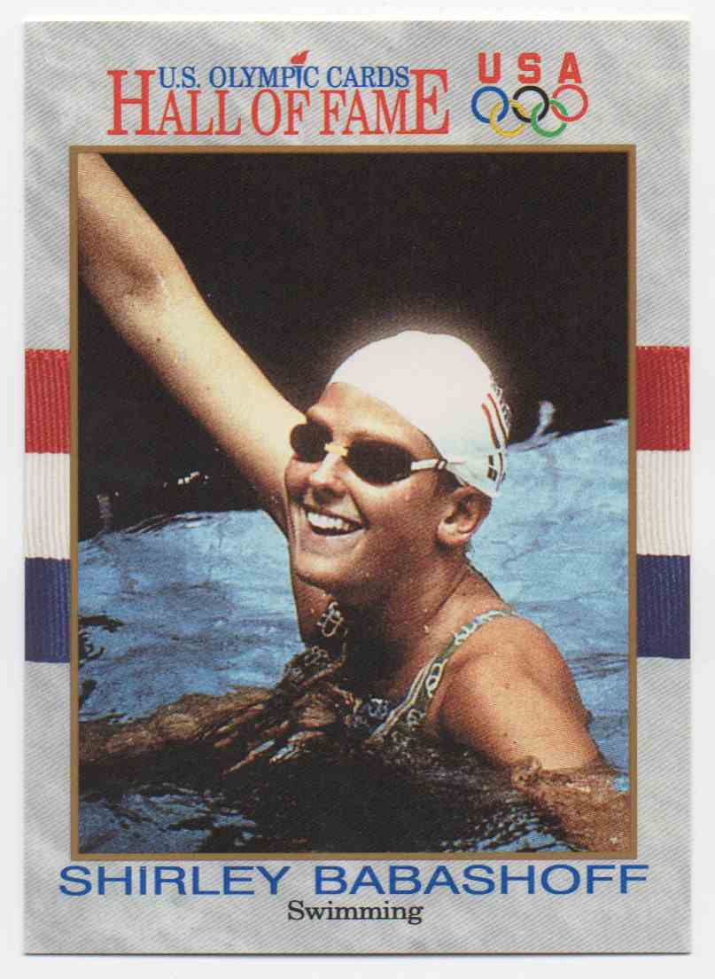 1991 Impel U.S. Olympic Hall Of Fame Shirley Babashoff #51 card front image