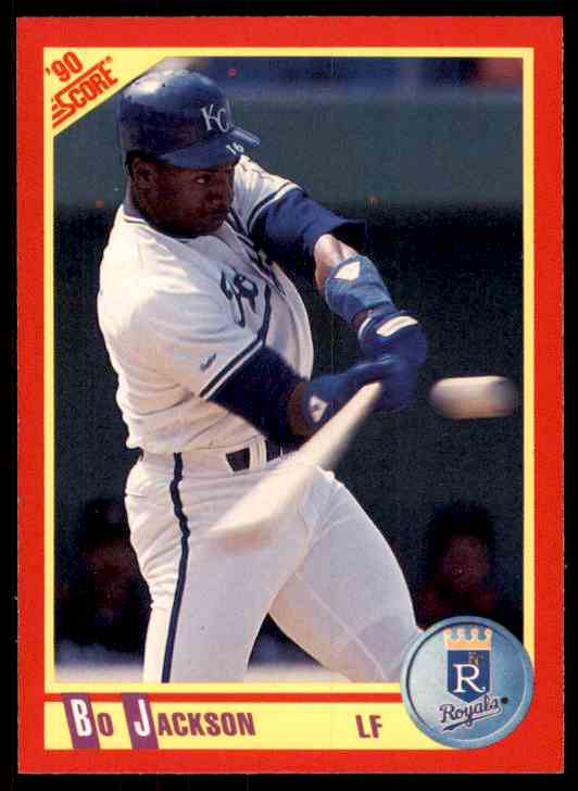 1990 Score Bo Jackson #280 card front image