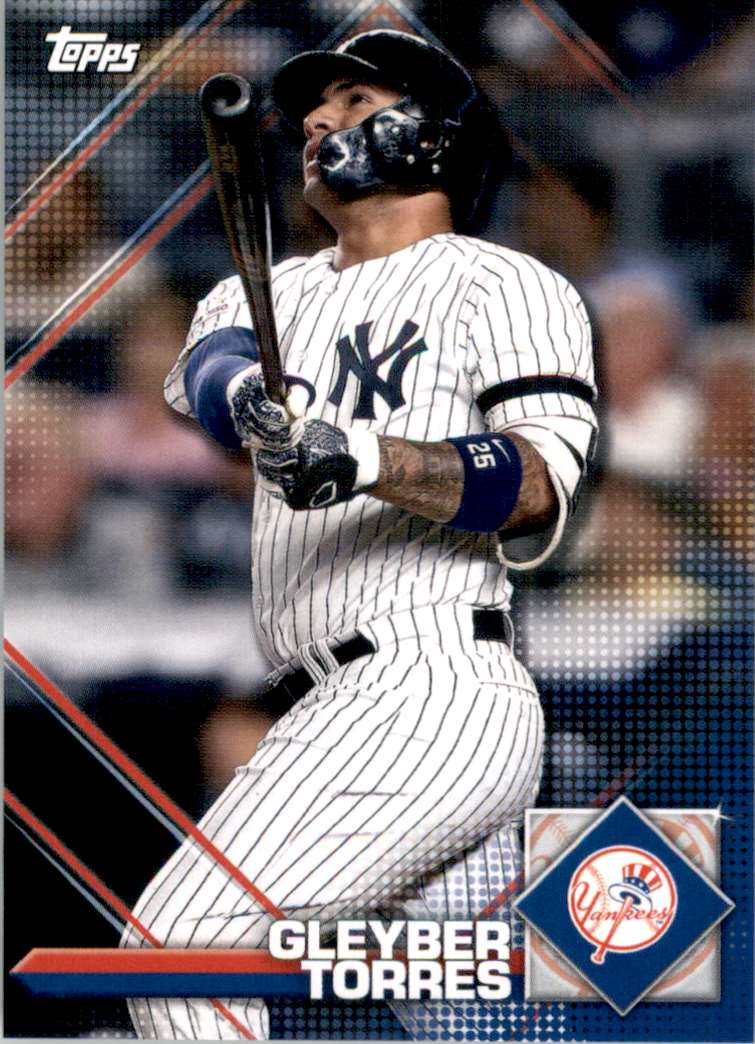 2020 Topps Heritage '20 Sticker Collection Preview Gleyber Torres #3 card front image