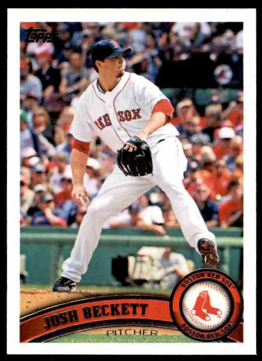 2011 Topps Josh Beckett #610 card front image