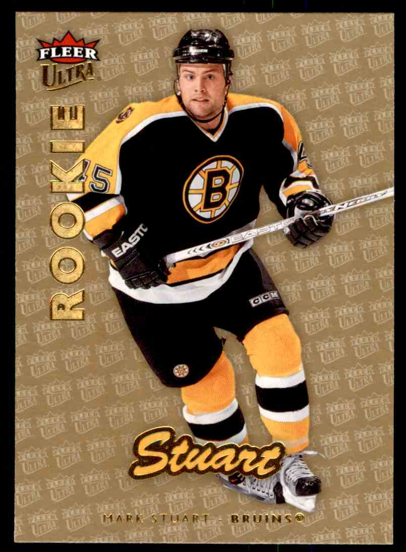 2006-07 Ultra Gold Medallion Rookie Mark Stuart #202 card front image