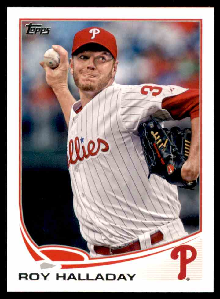 2013 Topps Mini Roy Halladay #410 card front image