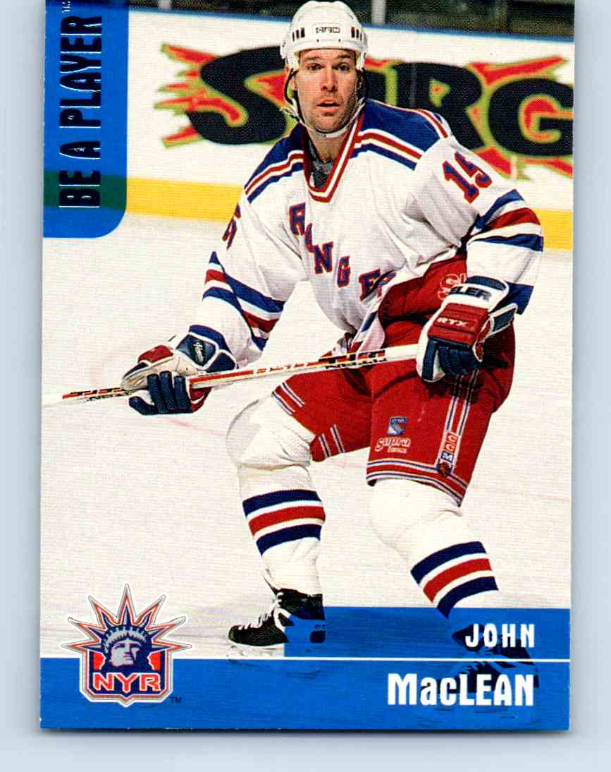 1999-00 Be A Player John MacLean #295 card front image