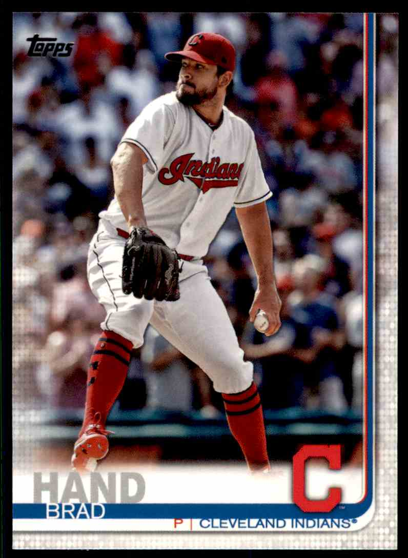 2019 Topps Series 2 Brad Hand #368 card front image
