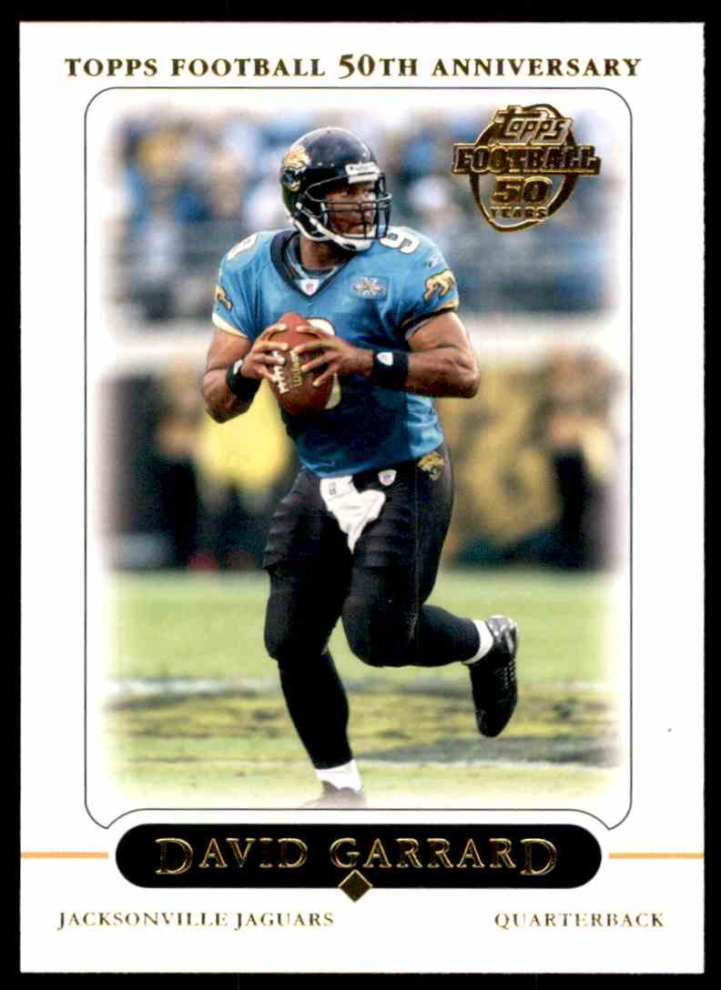 2005 Topps David Garrard #297 card front image