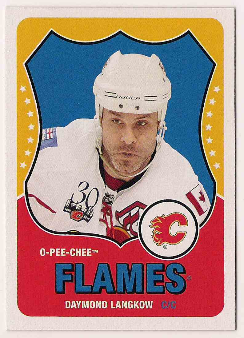 2010-11 O-Pee-Chee Retro Daymond Langkow #246 card front image