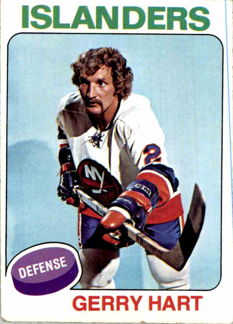 1975-76 Topps Gerry Hart #18 card front image