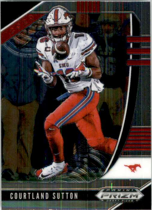 2020 Panini Prizm Draft Picks Courtland Sutton #18 card front image