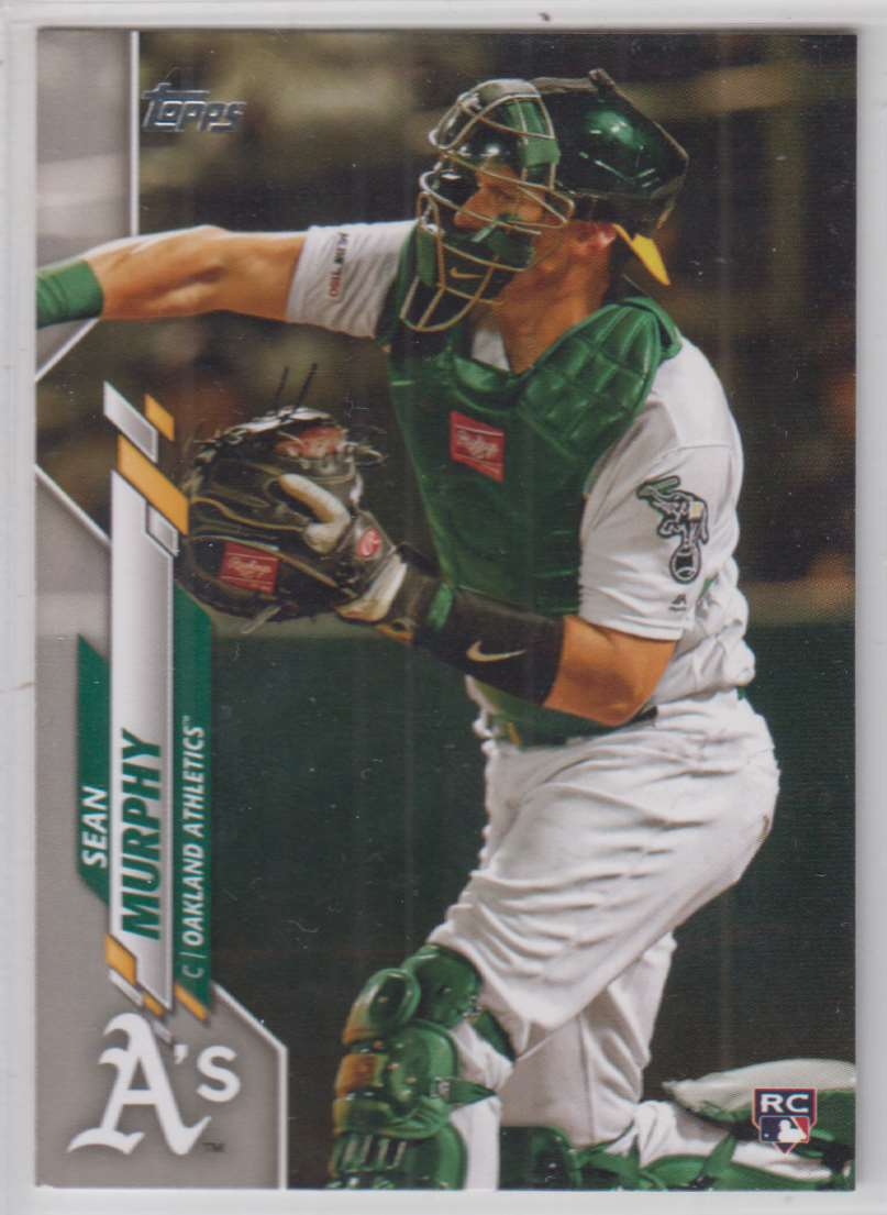 2020 Topps Sean Murphy #317 card front image