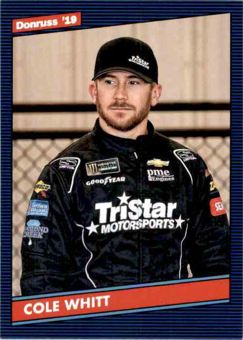 2019 Donruss Cole Whitt #138 card front image