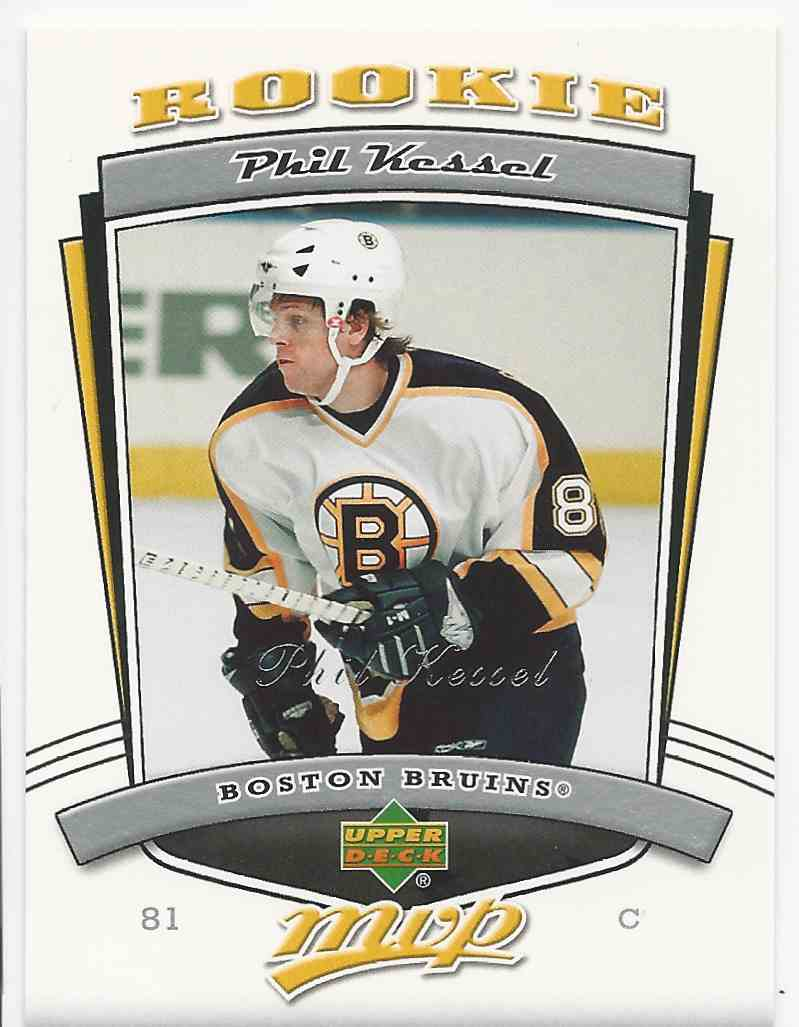 2006-07 Upper Deck MVP Phil Kessel #299 card front image