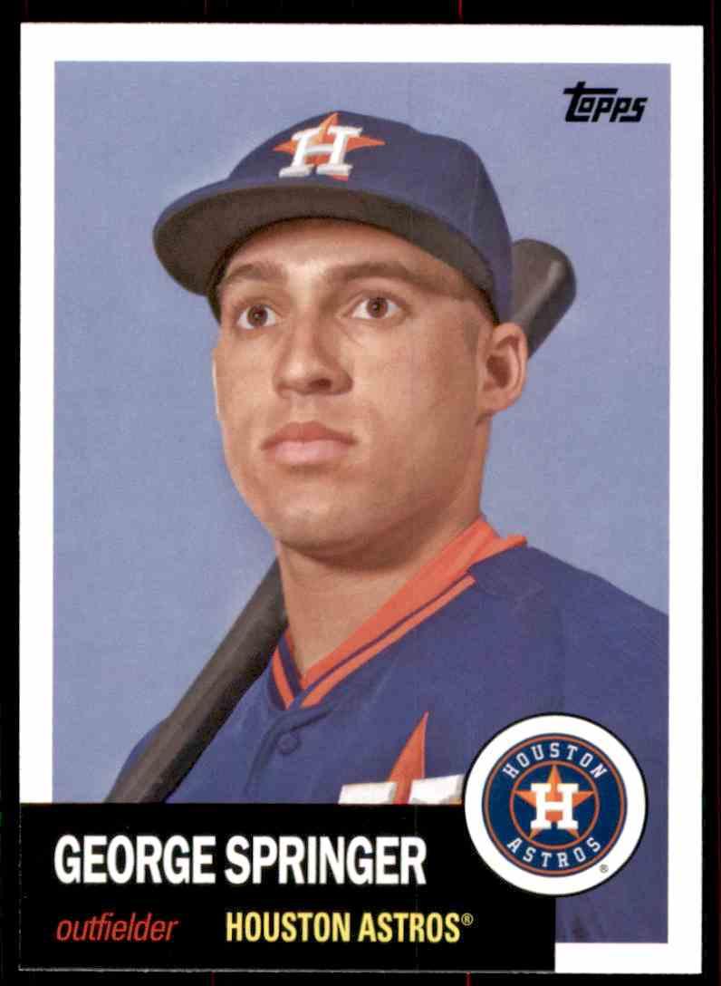 2016 Topps Archives George Springer #15 card front image