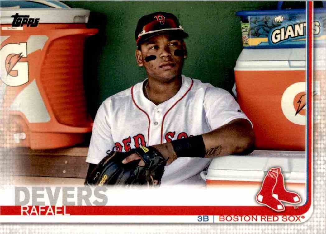 2019 Topps Series 1 Rafael Devers #228 card front image