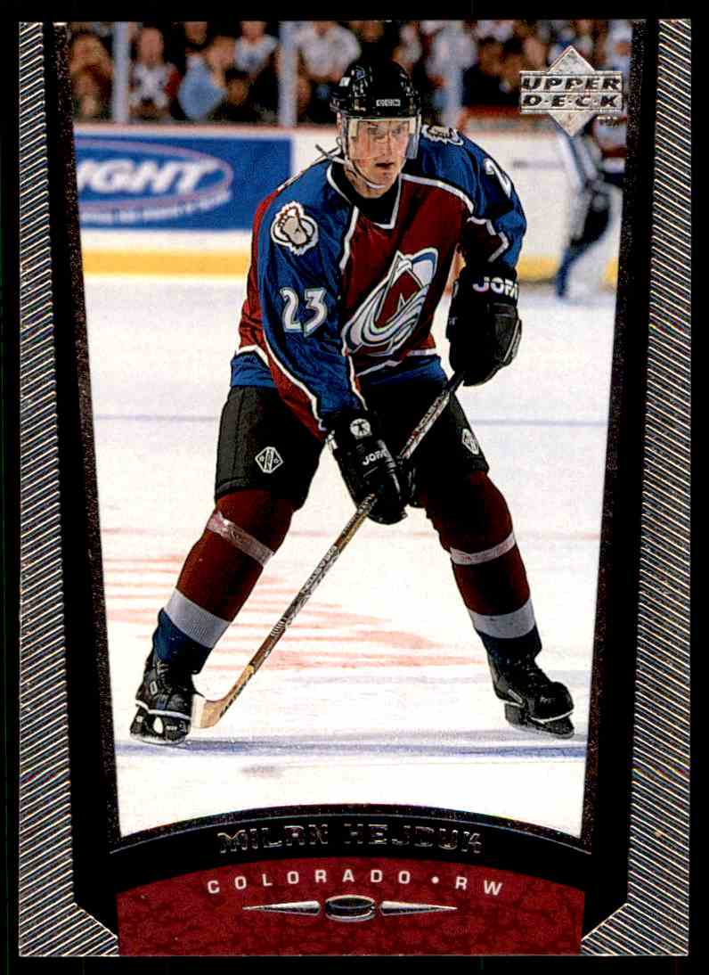 1998-99 Upper Deck Milan Hejduk #247 card front image