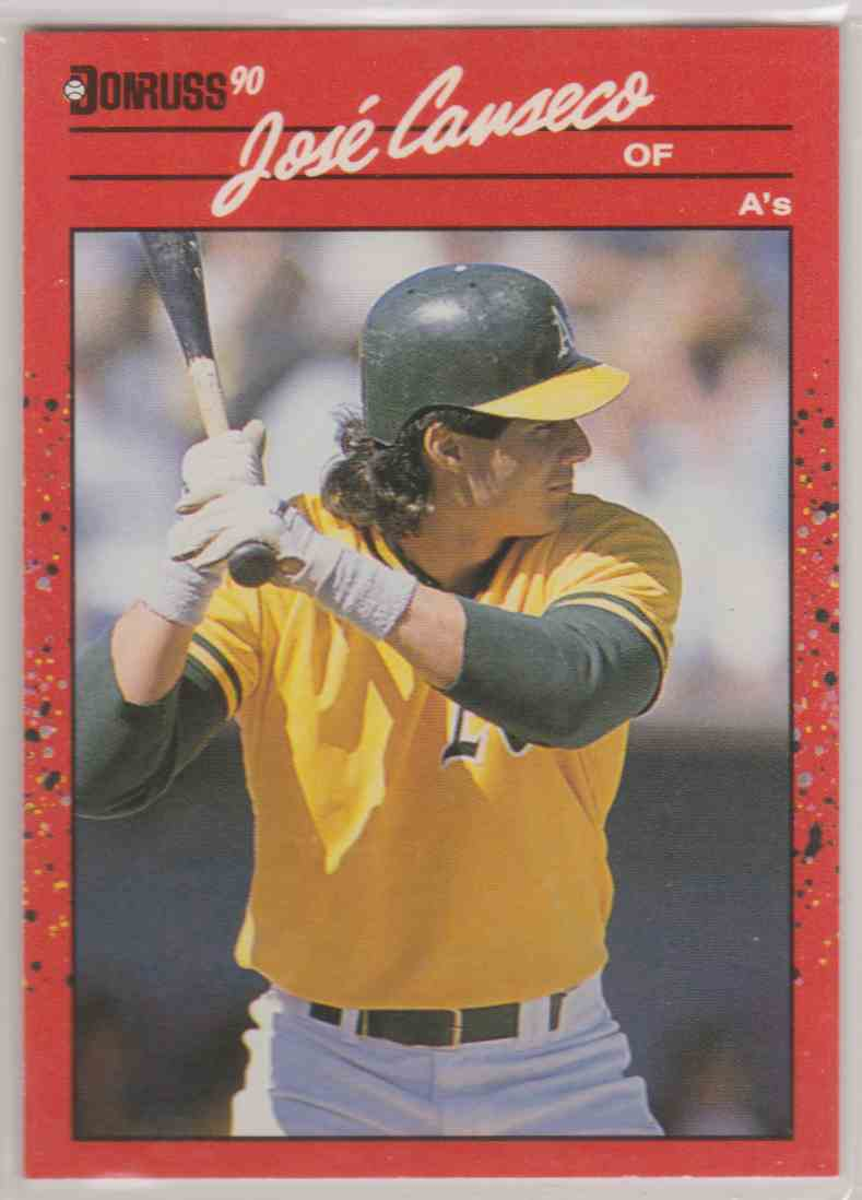 1990 Donruss Jose Canseco 125 On Kronozio