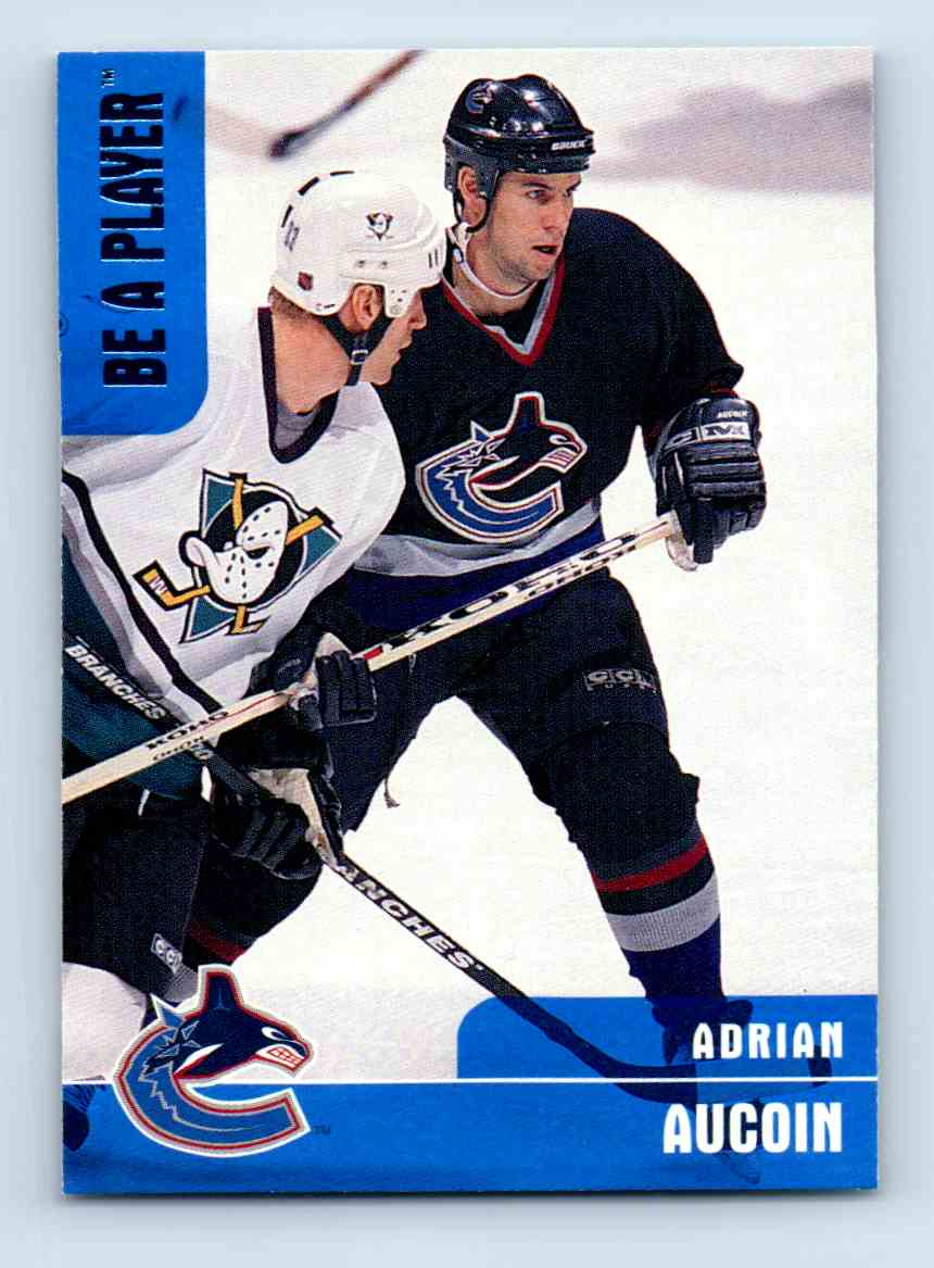 1999-00 Be A Player Adrian Aucoin #292 card front image