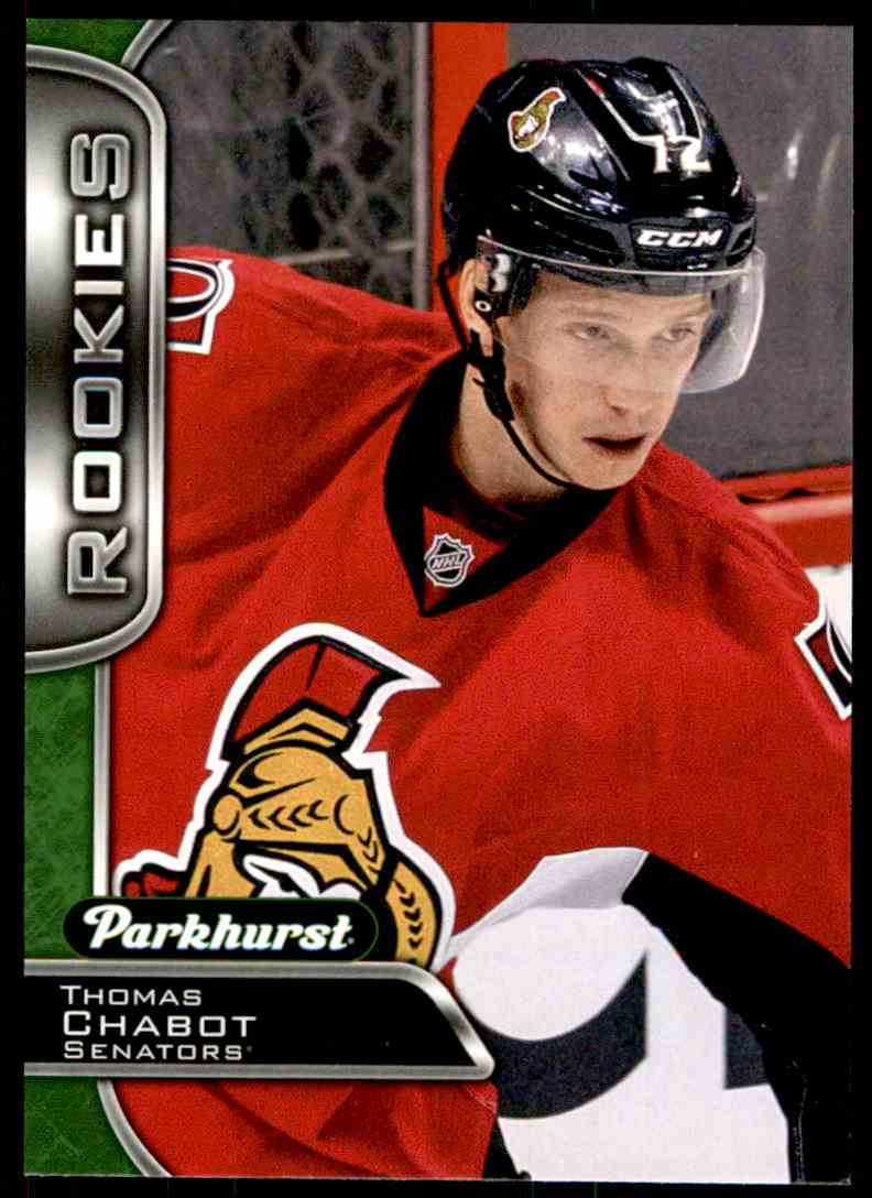 2016-17 Parkhurst Rookies Thomas Chabot #379 card front image