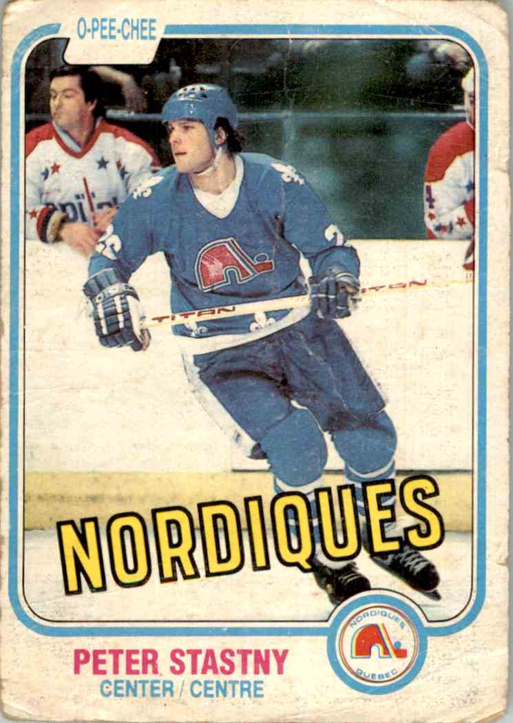 1981-82 O-Pee-Chee Peter Stastny #269 card front image