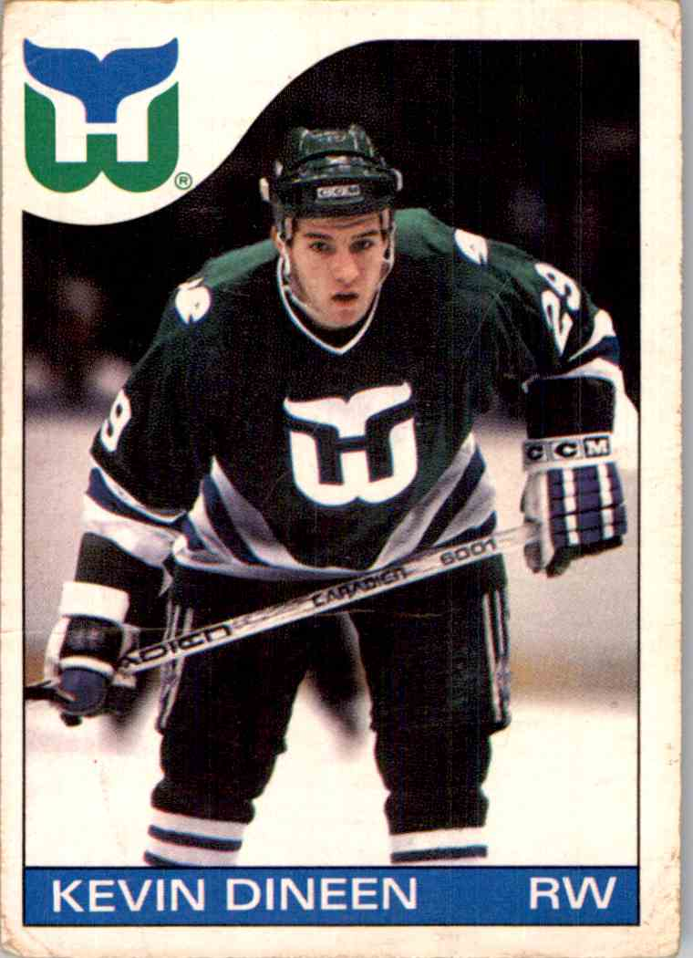 1985-86 O-Pee-Chee Kevin Dineen #34 card front image