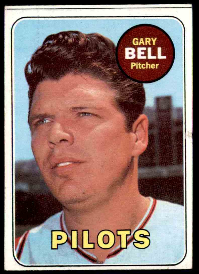 1969 Topps Gary Bell #377 card front image