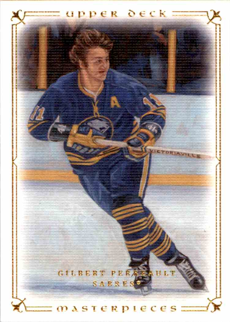 2008-09 Upper Deck Masterpieces Gilbert Perreault #69 card front image