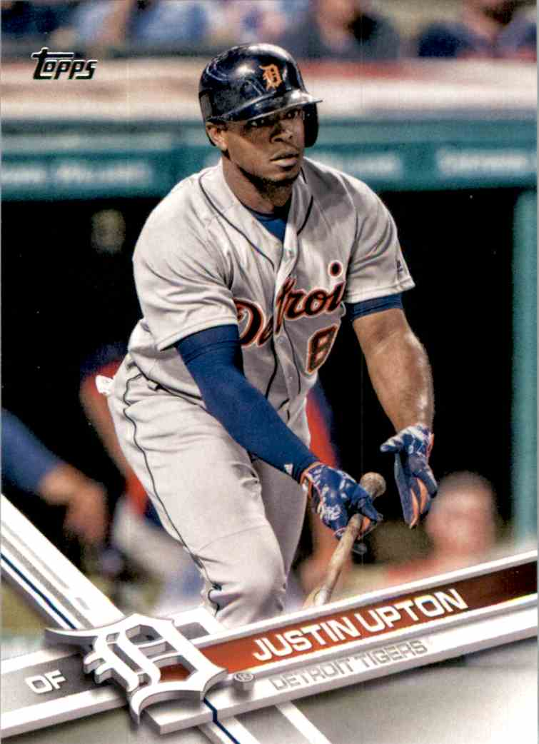 2017 Topps Justin Upton #207 card front image