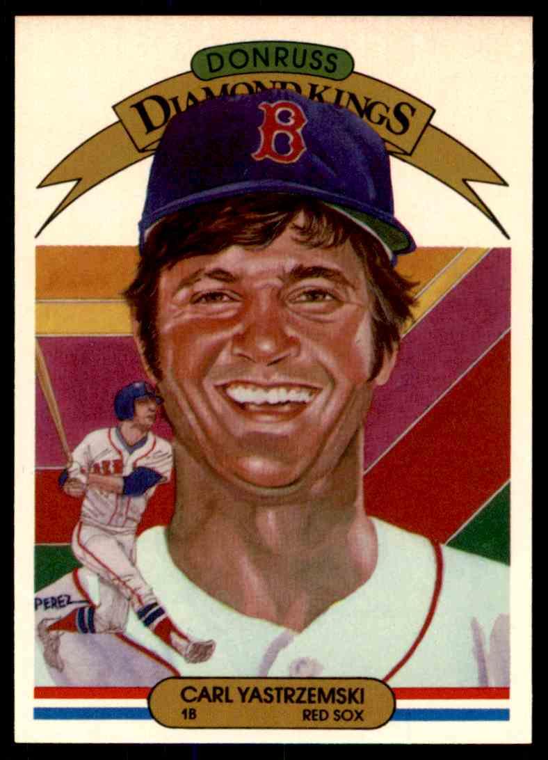 1983 Donruss Carl Yastrzemski #25 card front image