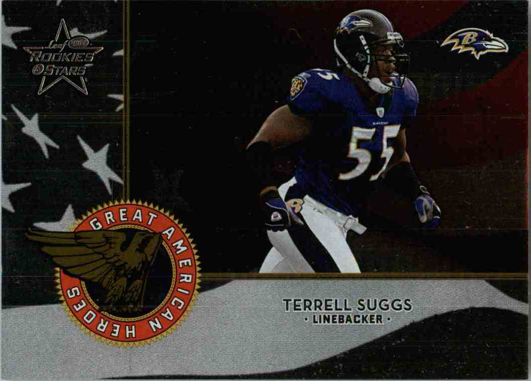 2004 Leaf Terrell Suggs #GAH-17 card front image