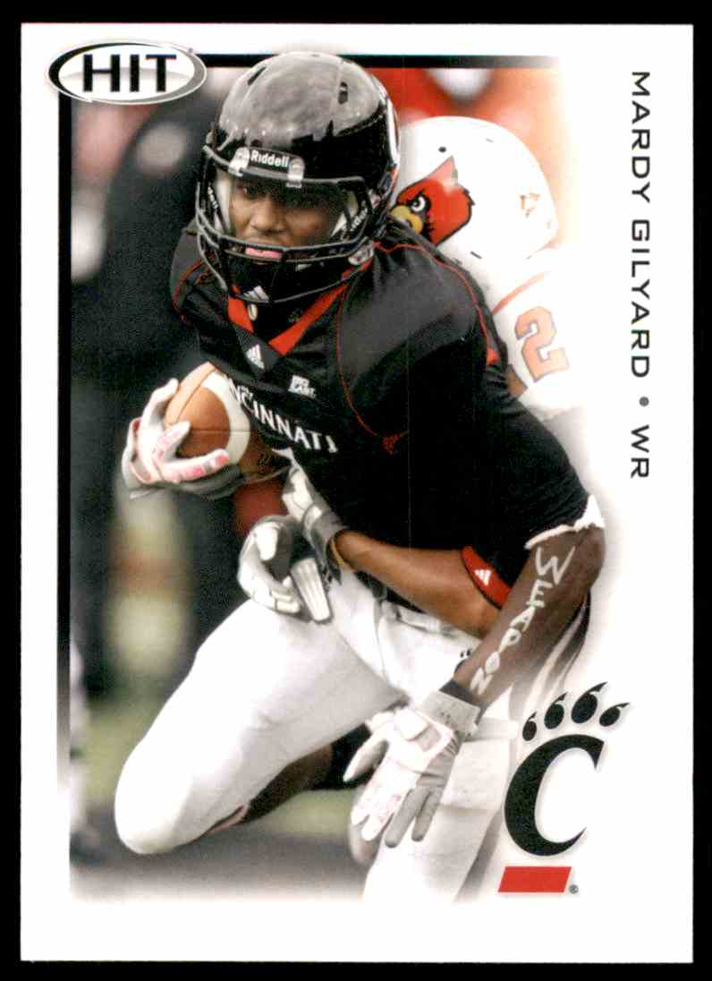 2012 Sage Hit Mardy Gilyard #1 card front image